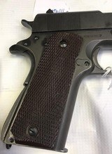 Colt 1911A1 45acp WWII 1943w/shoulder rig two mags - 8 of 15