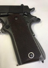 Colt 1911A1 45acp WWII 1943w/shoulder rig two mags - 2 of 15