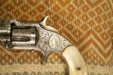 Nimschke Engraved Smith and Wesson Model 1 1/2 2nd Issue Rev