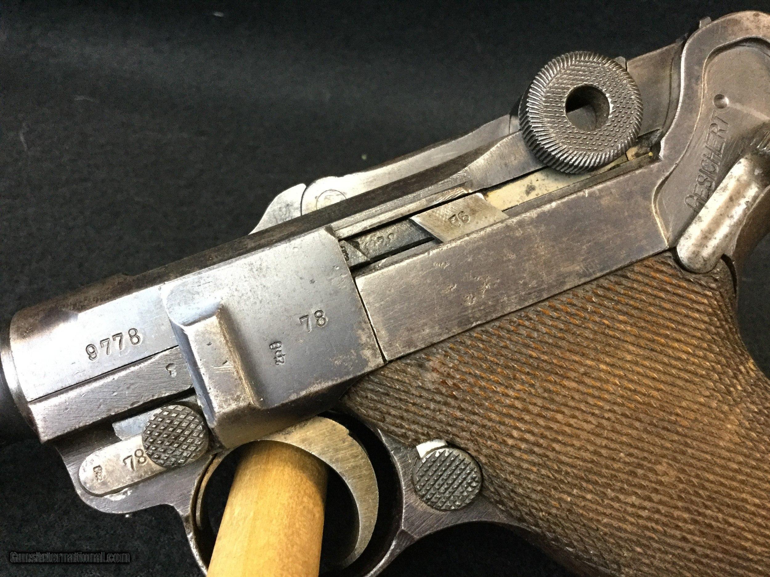 Erfurt-P-08-German-Luger-serial-9978-191