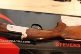 Stevens/Savage Arms Over/Under 555 20 gauge 26 in barrels new in box - 10 of 11