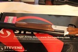 Stevens/Savage Arms Over/Under 555 20 gauge 26 in barrels new in box - 11 of 11