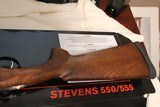Stevens/Savage Arms Over/Under 555 20 gauge 26 in barrels new in box - 9 of 11