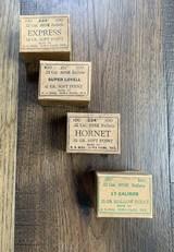 Sisk Bullets Vintage boxes