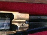 Pietta Golden Buffalo Hunter New Model Army 185844 cal 6-shot revolvers. Limited Edition boxed set of 2 with certificate - 5 of 14
