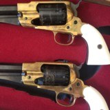 Pietta Golden Buffalo Hunter New Model Army 185844 cal 6-shot revolvers. Limited Edition boxed set of 2 with certificate - 8 of 14
