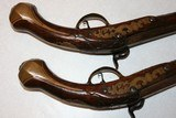 Percussion Converstion Pistols From 1710, .62 cal. horse holster pistols - 12 of 13