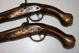 Percussion Converstion Pistols From 1710, .62 cal. horse holster pistols - 13 of 13