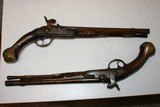 Percussion Converstion Pistols From 1710, .62 cal. horse holster pistols - 1 of 13