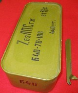 Russian 7.62X54R Ammo in Spam Can 440 RDS - 2 of 6