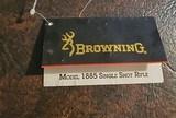 BROWNING MODEL 1885 SINGLE SHOT RIFLE HANGTAG - 1 of 3