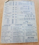 BROWNING SPORTING ARMS CATALOG WITH 1967 PRICE LIST - 4 of 4