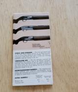 GUNS BY BROWNING POCKET CATALOG - 2 of 2