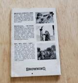 BROWNING SEMI-AUTOMATIC HIGH-POWER RIFLE BOOKLET - 2 of 2