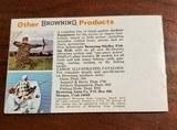 1970 BROWNING POCKET CATALOG - 1 of 2