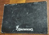 BROWNING GOLD SEMI-AUTO 10 GA. BOOKLET - 2 of 3