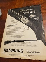 BROWNING GRADE 1 SUPERPOSED ADVERTISEMENT - 3 of 3