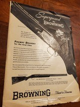 BROWNING GRADE 1 SUPERPOSED ADVERTISEMENT - 2 of 3