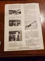 INSTRUCTIONS FOR BROWNING SUPER-TUBES - 2 of 2