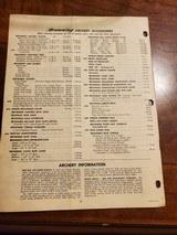 1972 BROWNING PRICELIST - 2 of 2