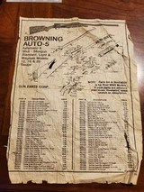 BROWNING AUTO-5 ADVERTISEMENT - 1 of 2