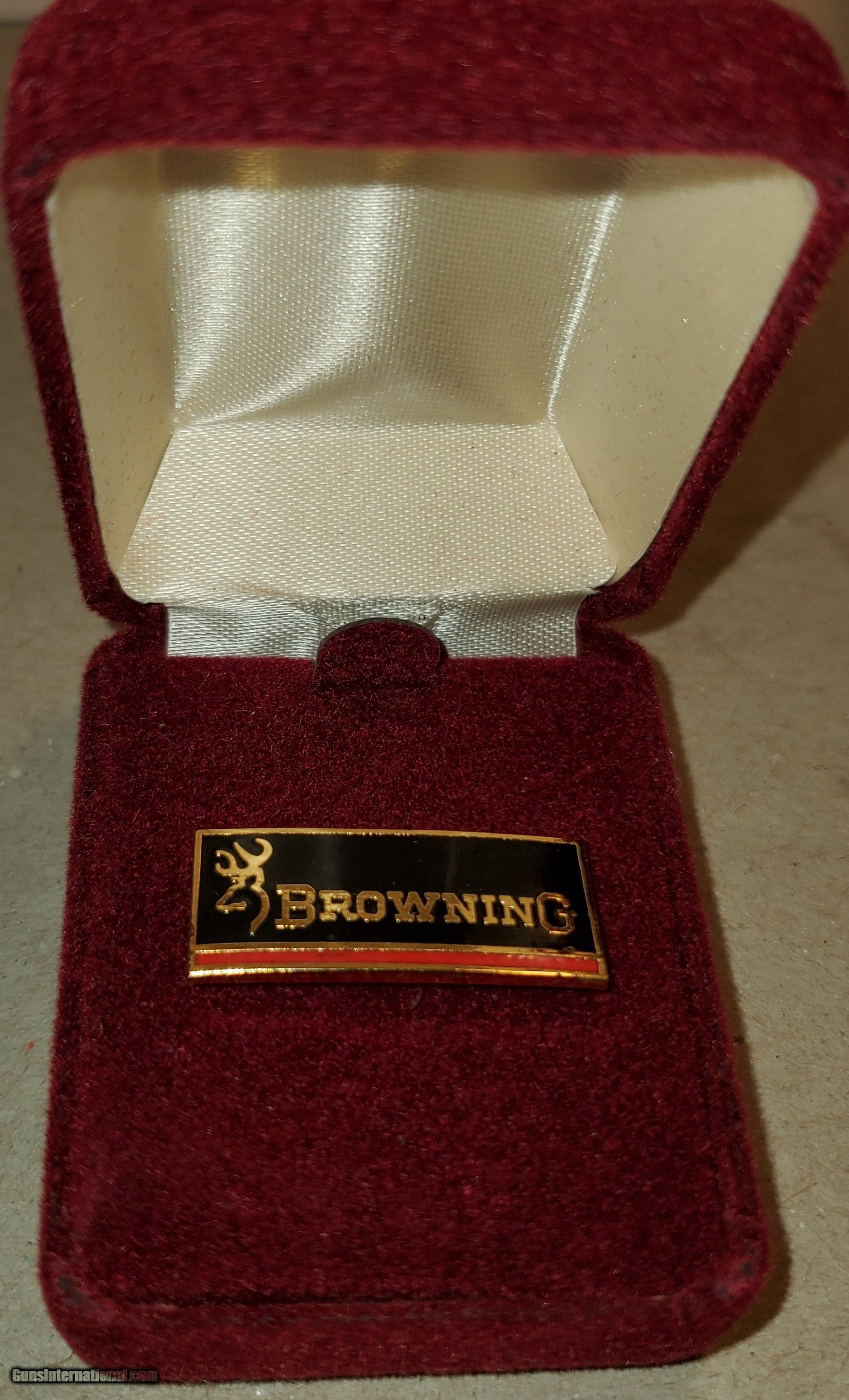 Browning Firearms Hat Lapel Pin