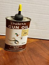 VINTAGE CAN OF OUTERS GUN OIL