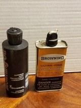 SET OF 2 BROWNING GUN OIL