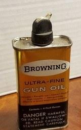 SET OF 2 BROWNING GUN OIL - 3 of 9