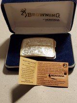 BROWNING WOMENS BELT BUCKLE BY MONTANA SILVERSMITHS - 5 of 6