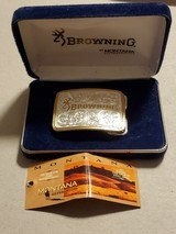 BROWNING WOMENS BELT BUCKLE BY MONTANA SILVERSMITHS - 4 of 6