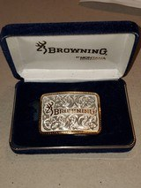 BROWNING WOMENS BELT BUCKLE BY MONTANA SILVERSMITHS