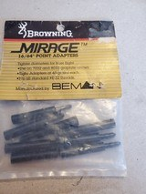 """BROWNING MIRAGE 16/64"""" POINT ADAPTERS"""
