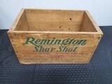 Remington Shur Shot Ammo Wooden Case