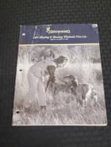 1991 Browning Hunting & Shooting Wholesale Price List - 1 of 2