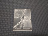 Browning Citori Booklet - 1 of 2