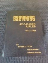 Browning .22 Caliber Rifles by Homer C. Tyler