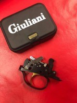 prefitted giuliani double release leaf spring trigger group