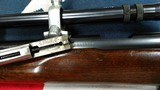 Winchester 52 .22 LR caliber rifle. 52-B Target model