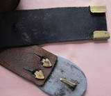 Civil War Issue Rig - 1860 Army Colt Flap Holster - 7 of 11
