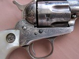 Colt Inscribed SAA-Historic New Mexico Factory Engraved-1911 - 2 of 11