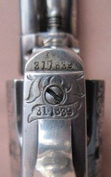 Colt Inscribed SAA-Historic New Mexico Factory Engraved-1911 - 7 of 11