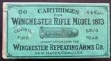 Antique .44-40 Ammo, Winchester Brand, Circa 1885