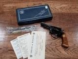 """Smith & Wesson Model 43 Revolver 3.5"""" w/ box"""