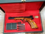 Browning Medalist 22 LR Target Pistol with Case