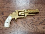 Marlin 38 Standard 1878 Revolver Factory Engraved 24kt Gold-Plated - Ultra Rare *REDUCED*