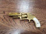 Marlin 38 Standard 1878 Revolver Factory Engraved 24kt Gold-Plated - Ultra Rare *REDUCED* - 2 of 21