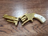 Marlin 38 Standard 1878 Revolver Factory Engraved 24kt Gold-Plated - Ultra Rare *REDUCED* - 13 of 21