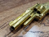Marlin 38 Standard 1878 Revolver Factory Engraved 24kt Gold-Plated - Ultra Rare *REDUCED* - 17 of 21