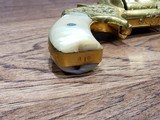 Marlin 38 Standard 1878 Revolver Factory Engraved 24kt Gold-Plated - Ultra Rare *REDUCED* - 5 of 21